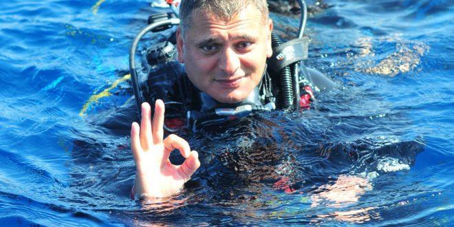 Türkiye Sualtı Sporları Federasyonu Başkanı Şahin Özen