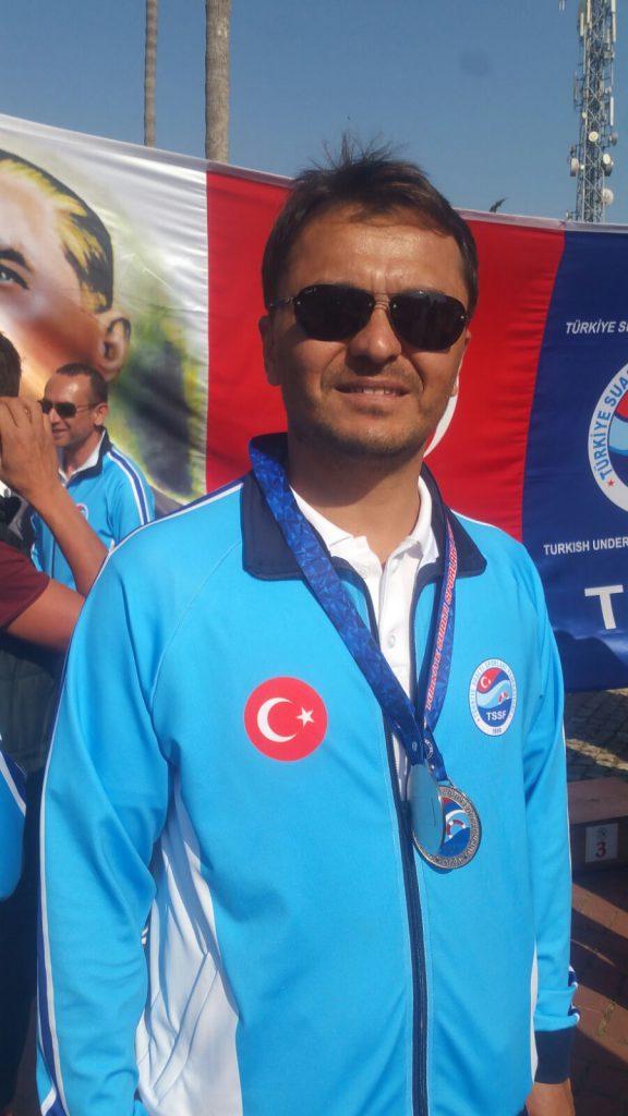 Antalya Gazipaşa Su ve Doğa Sporları Kulübü sporcuları Hakan Ergün